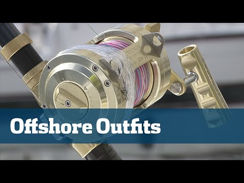 Best Dolphin Tackle Rods Reels Line Lures - Florida Sport Fishing TV Rigging Station