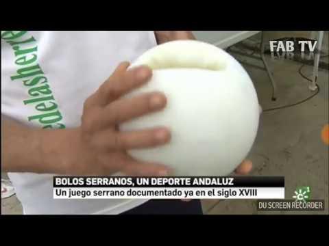 El bolo andaluz en Canal Sur Noticias Jaén 24 de mayo 2018