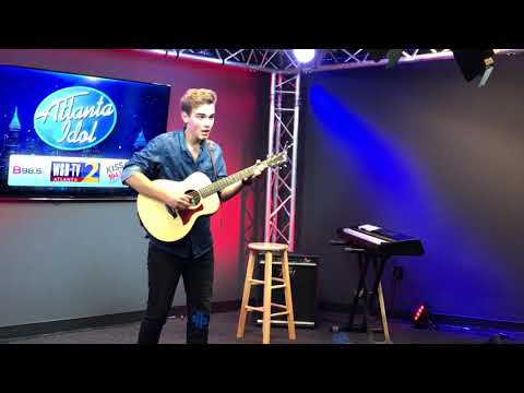 Andrew Weaver performs on Atlanta Idol 2017