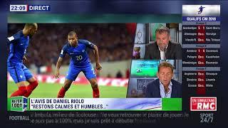 After Foot du lundi 04/09 – Partie 1/6 - L'avis tranché de Daniel Riolo sur les Bleus
