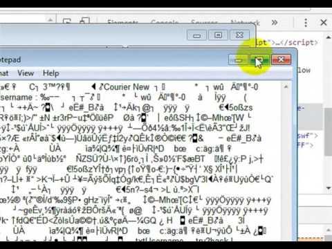 How To Hack Passwords In Flash Files