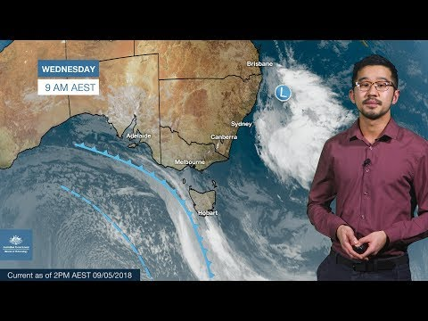 ⚠️Weather update: Cold snap for southeastern Australia, 9 May 2018
