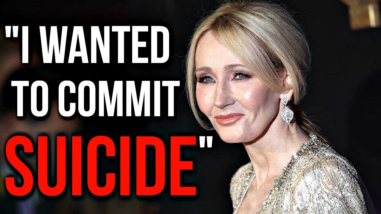 From Deep Depression To World's Richest Writer | Real Life Story of J.K. Rowling - Harry Potter