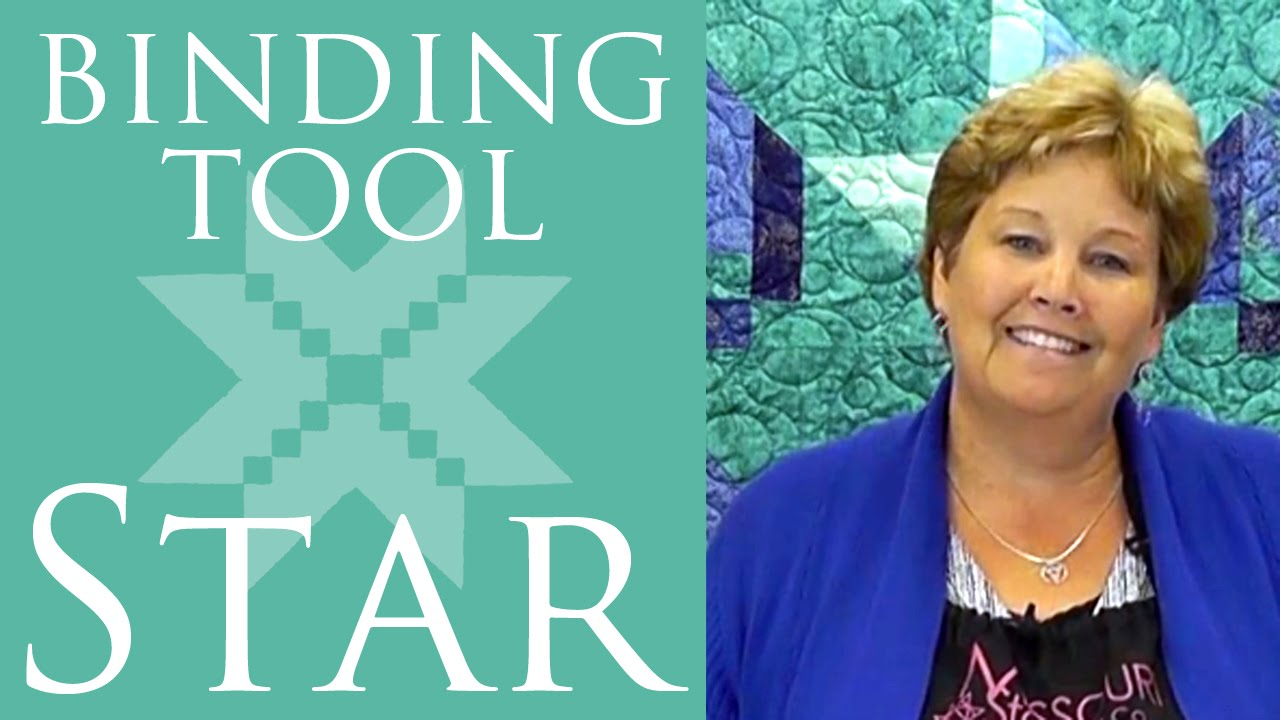 The Binding Tool Star Quilt Easy Quilting Tutorial With