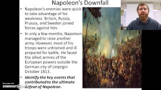 The French Revolution: Rise (and decline) of Napoleon Part 2