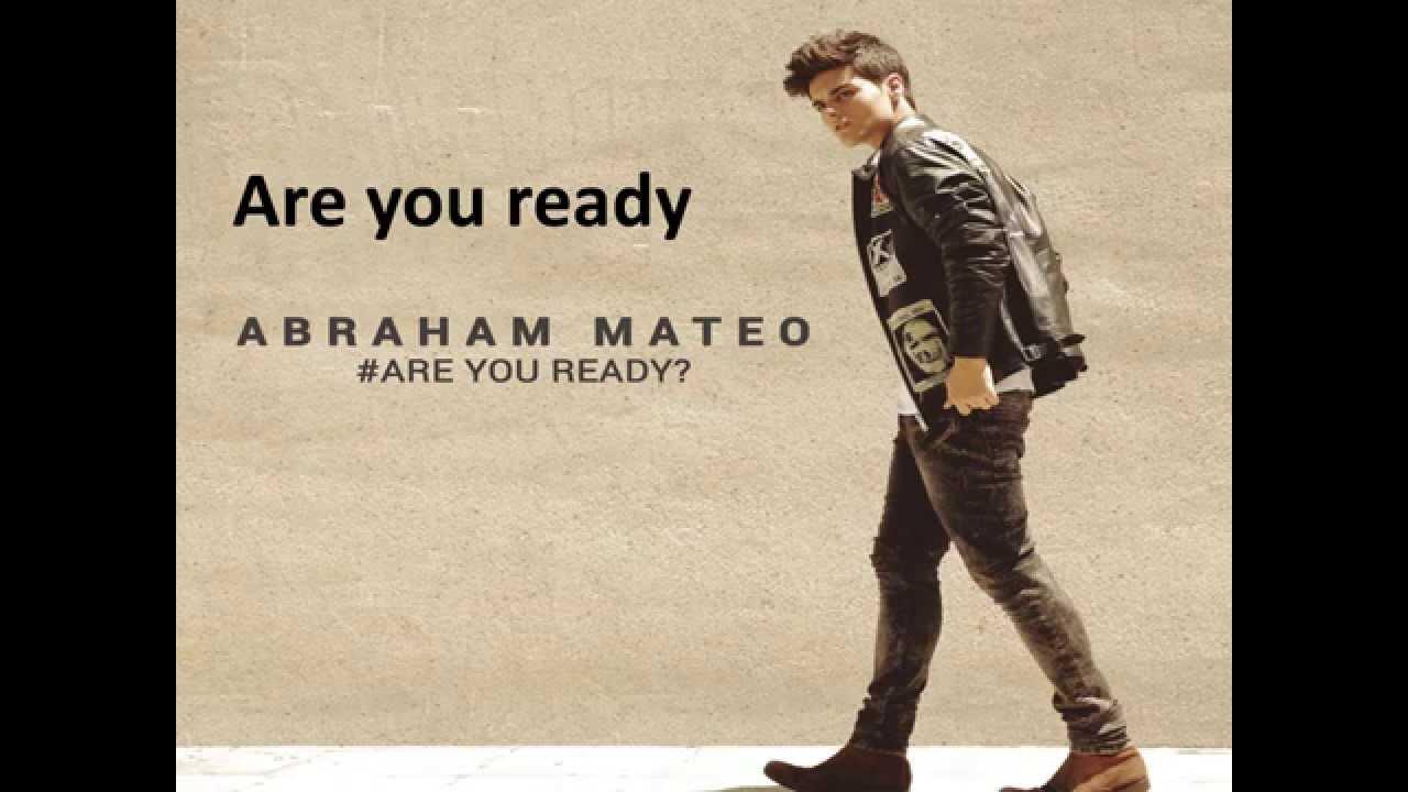 Kinder Garden: Abraham Mateo Are You Ready? Letra