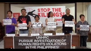 Human rights groups to gov't: Respect UNHRC doption of resolution
