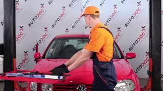 Montaje Plumas limpiaparabrisas traseras y delanteras VW GOLF: vídeo manual