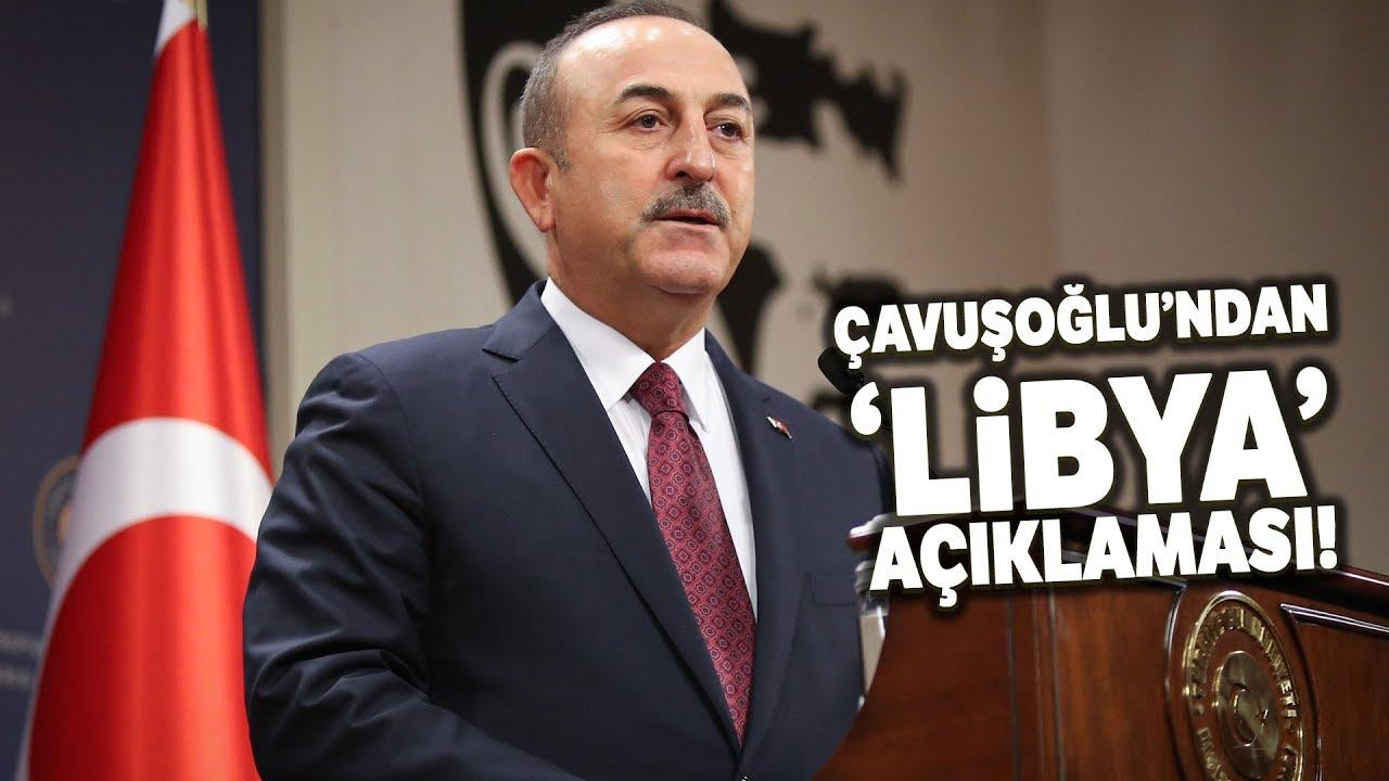 """Çavuşoğlu; """"Libya ve Türkiye Arasında İmzalanan Mutabakat Yürürlüğe Girdi"""""""
