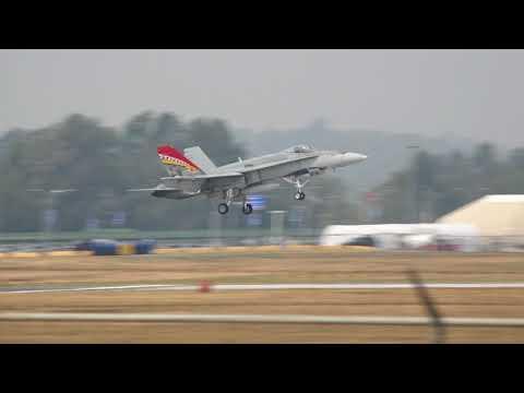 2017 Abbotsford Airshow Arrivals