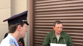 СРОЧНО⚡️Офицер Минобороны РФ голодает 9 мая: «Меня обманул Путин!».Задержание / LIVE 09.05.19