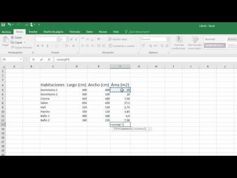 Sumar valores de celdas en Excel