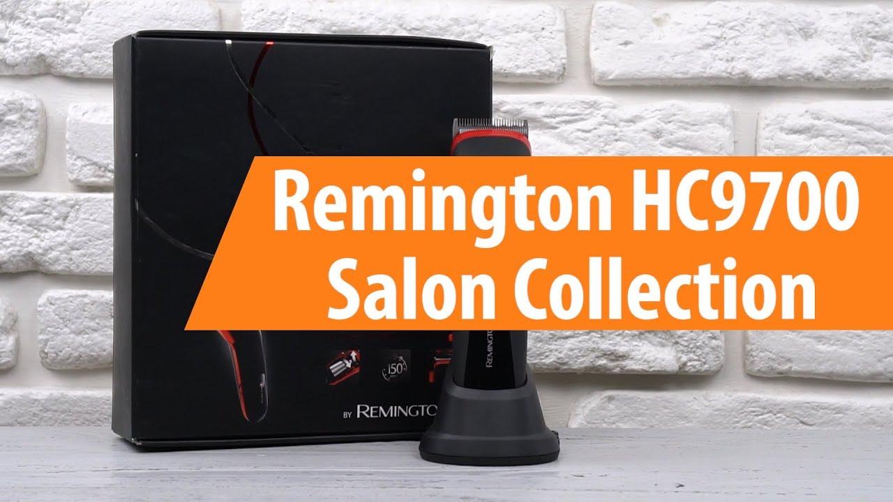 Распаковка машинки для стрижки Remington HC9700   Unboxing Remington HC9700 3e8e093184