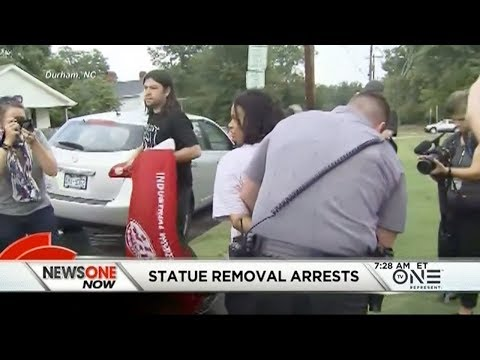 Arrests In Confederate Statue Removal In Durham, NC