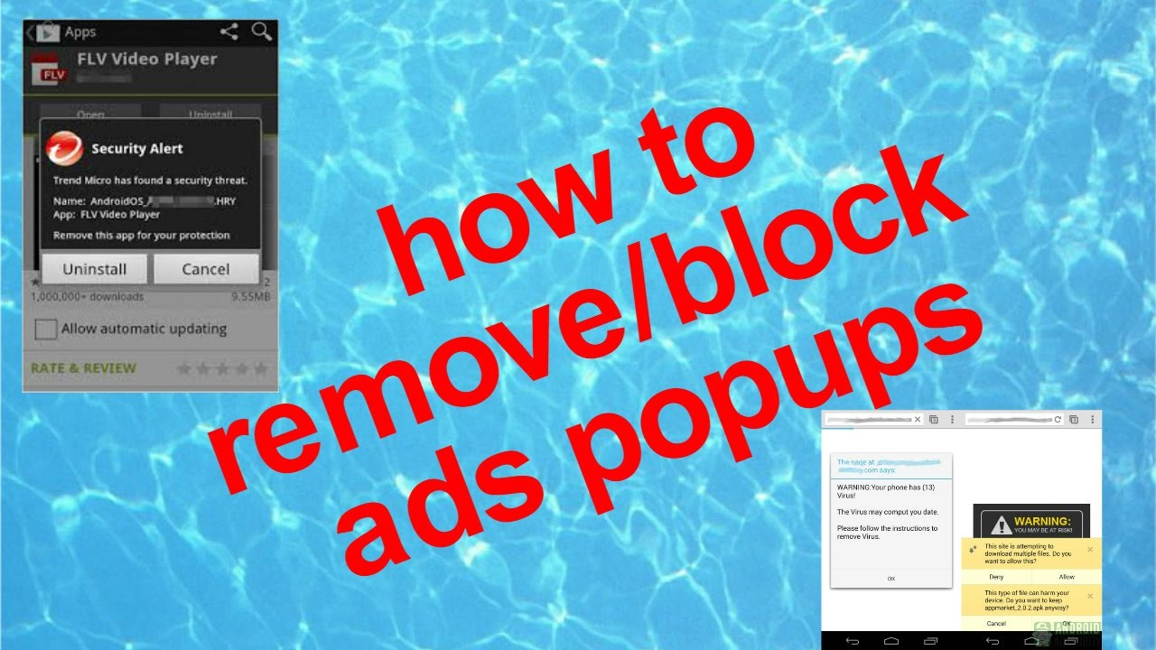 how to block ads popups on android mobile