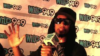 Lil Jon w/ E-40 and Baby Bash backstage @ Wild Jam
