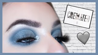 Jeffree Star Cremated Palette Tutorial | Silver & Grey Cut Crease