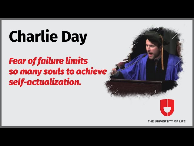 Charlie Day On Failure | Merrimack College Commencement Address(Highlights) | The University Of Life