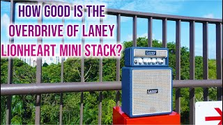Laney Amplification MINISTACK-LION | Outdoor Recording | #overdrive