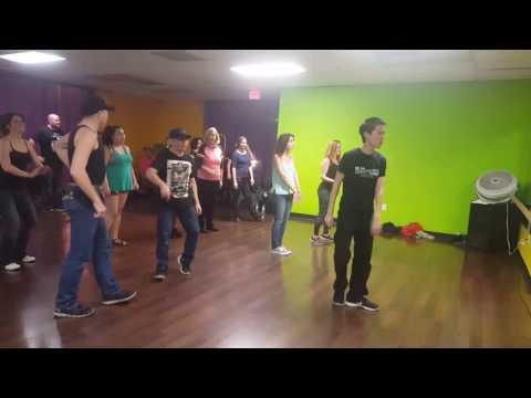 Shady Line Dance at Wild Fitness Studio
