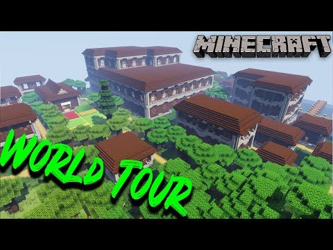 Browniebits WORLD TOUR AND DOWNLOAD #1 Minecraft 1.13 Survival