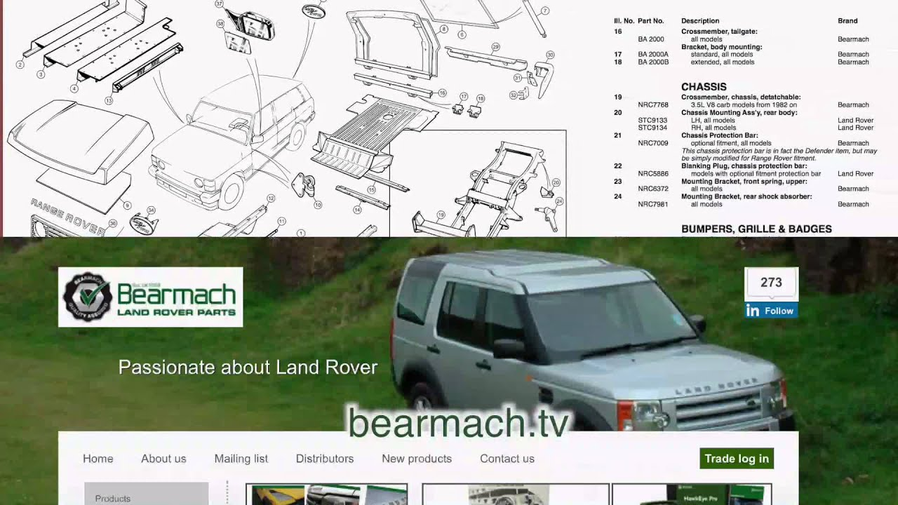 test parts driving land discovery vehicle engine landrover rover watch