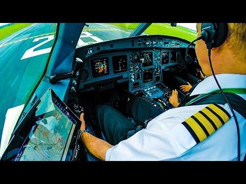 Cockpit Aer Lingus A330 GoPro Takeoff Dublin