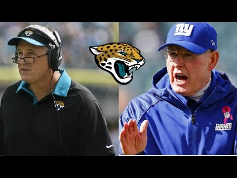 Jacksonville Jaguars hire Tom Coughlin as Executive VP and Doug Marrone as Head Coach!