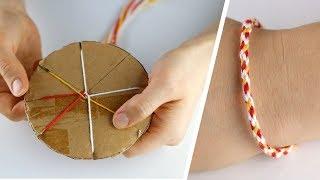 DIY Kumihimo Bileklik Yapımı / En Kolay Arkadaşlık Bilekliği / Friendship Bracelet