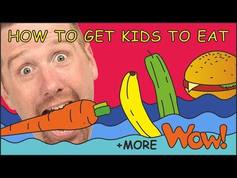 How To Get Kids To Eat Story from Steve and Maggie | + MORE Stories for Children by Wow English TV