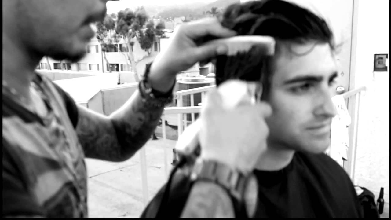 Hollywood Rooftop Cut & Style By Daniel Alfonso