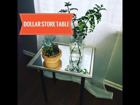 Diy Dollar Tree Basket Luxe Side Table 12 Doovi