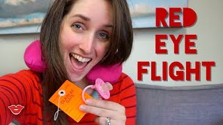 Flying With Baby - Overnight!! | Kristen from Millennial Moms