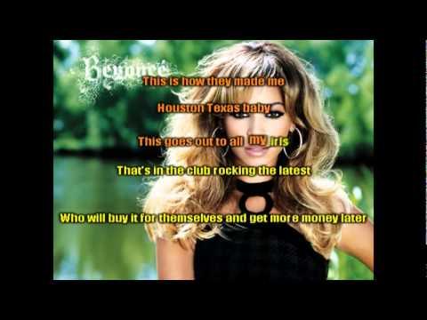 Beyonce -Who Run The World Girls  (Karaoke)