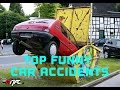 Funny car accidents 2017 | Funny car crashes | Funny Videos 2017 | Videos of car accidents 2017