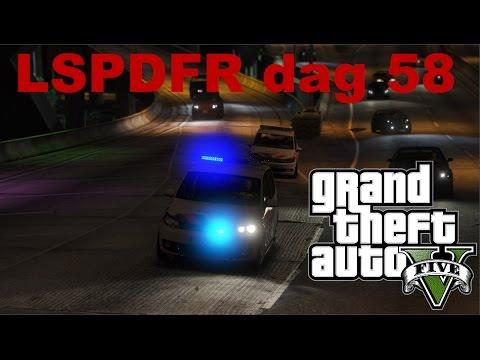 GTA 5 lspdfr dag 58 - Nachtdienst Vinewood Hills - Achtervolging en inbraak