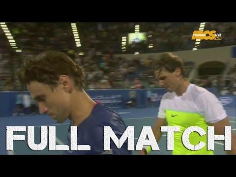 Abu Dhabi 2016 : Rafael Nadal vs David Ferrer (1/2 Finale) - FULL EXHIBITION MATCH HD