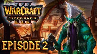 Let's Play 100% DIFFICILE FR - Warcraft III Reforged (Kylesoul) - ep02 : Les twolls !