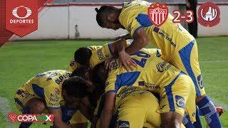 Atlético deja sin Copa a Necaxa | Necaxa 2 - 3 Atlético | Copa MX J6 Cl19 | Televisa Deportes