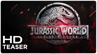 Jurassic World: Fallen Kingdom Teaser Logo (Fan Made) 2018