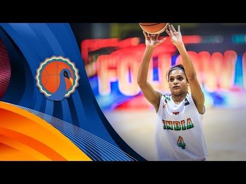 India v Iran - Full Game - FIBA U16 Women's Asian Championship 2017 - DIV B