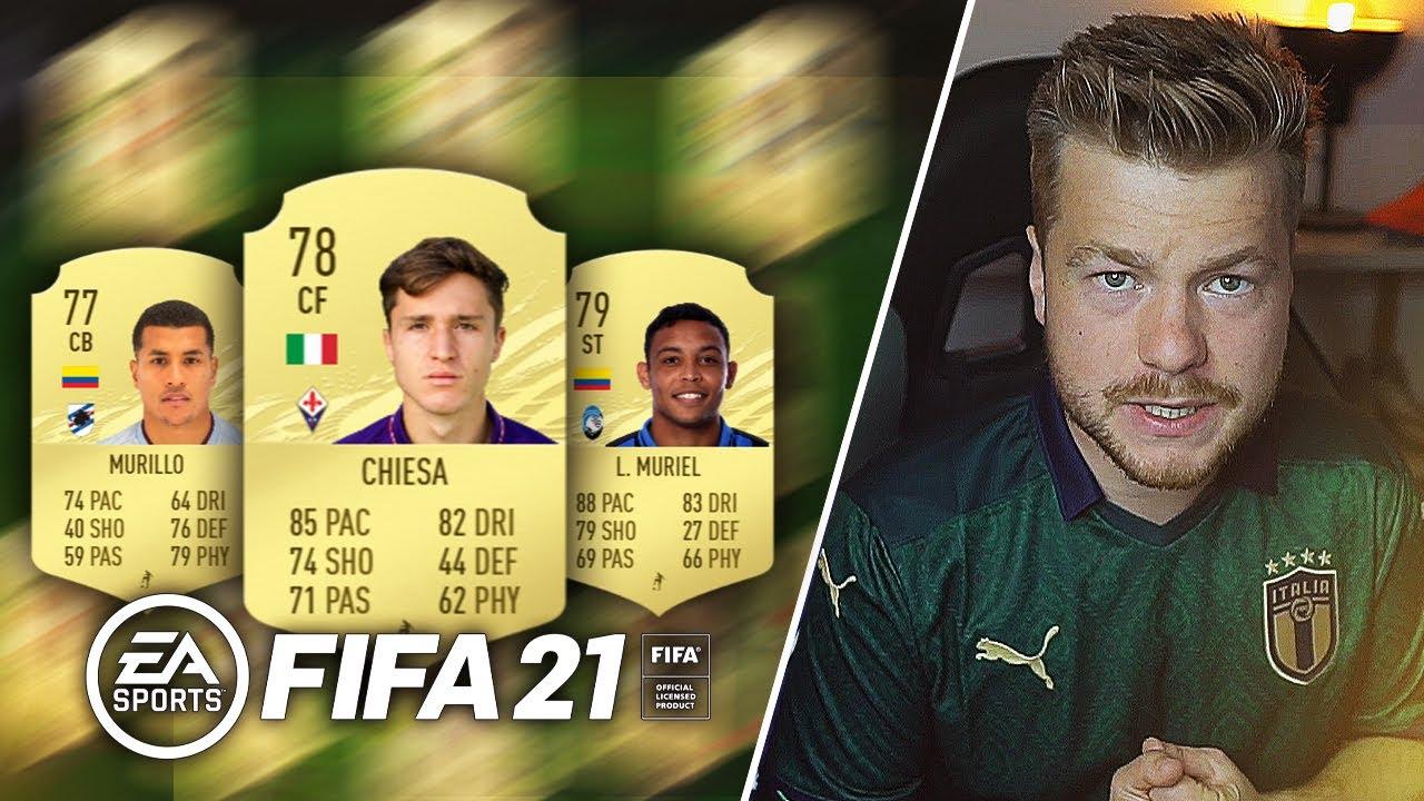 FIFA 21 TO BĘDZIE MÓJ SKŁAD?!
