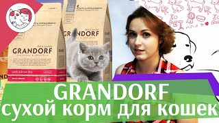 Grandorf сухой корм для кошек на ilikepet