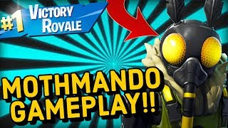 MOTHMANDO Skin Gameplay In Fortnite Battle Royale..