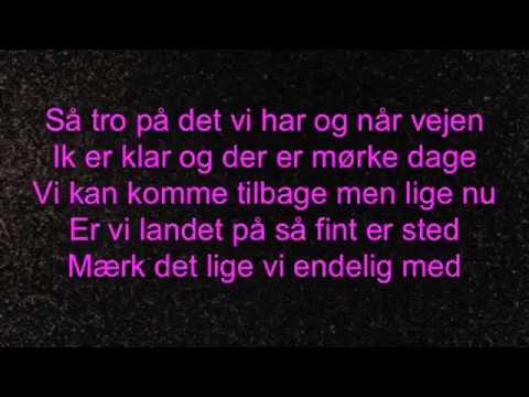 Marie Key - uden forsvar - lyrics