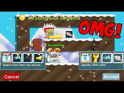 Growtopia | OMG THIS NEW SCAM FAIL MADE US POOR! 😭😭 [MRSONGO OF LEGEND!]
