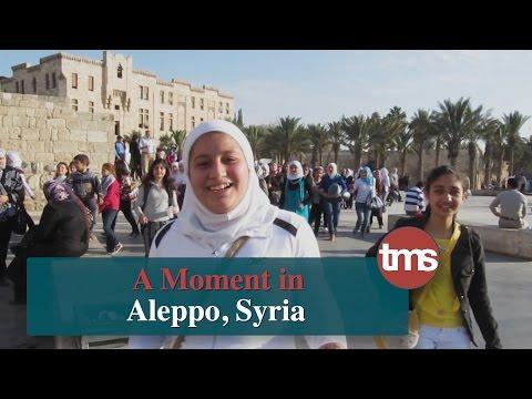 A Moment in Aleppo, Syria