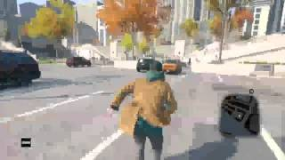 Watch Dogs WiiU Funny Moments!
