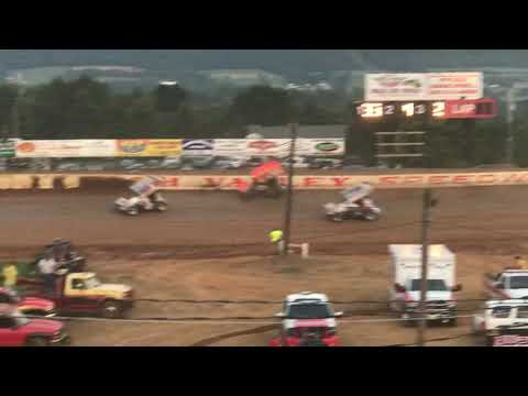 410 Sprint Cars Heat 4 | Path Valley Speedway Park | PA Speedweek Night #3 | 7/1/18