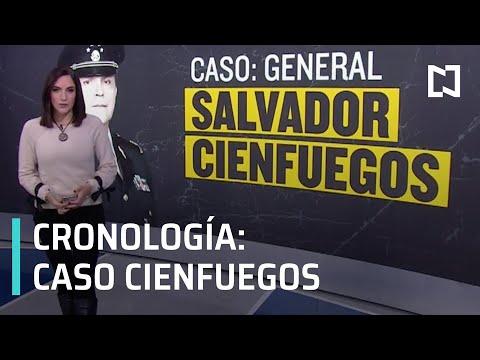 Cronología del caso de Salvador Cienfuegos - Despierta
